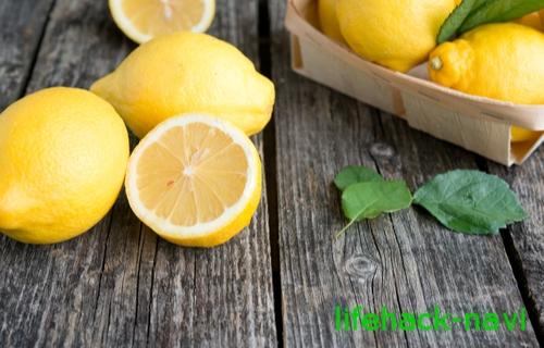 薄毛 食事 レモン