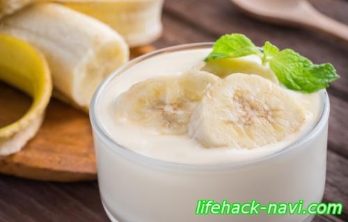 ぽっこりお腹 ダイエット バナナヨーグルト