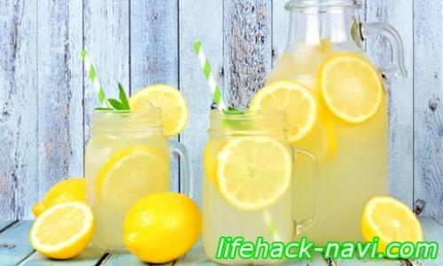 レモン水 ダイエット 効果