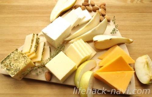 歯 白くする 自宅 チーズを食べる
