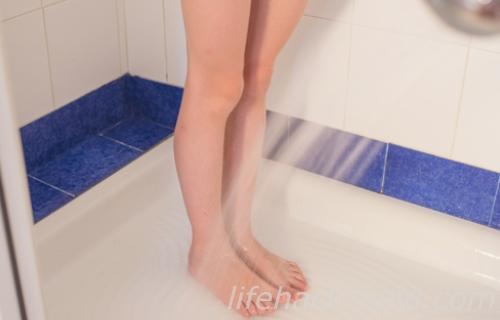 除毛クリーム シャワー 洗い流す
