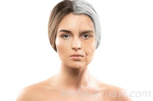 顔 たるみ 原因 加齢