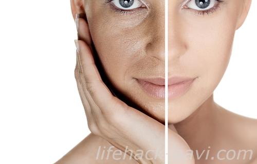 顔 産毛 効果 透明感
