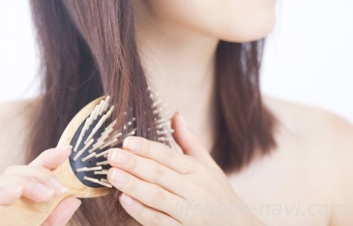 髪の毛 パサパサ ブラッシング