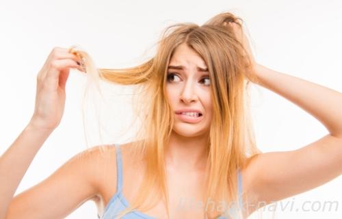 髪の毛 パサパサ 原因 乾燥
