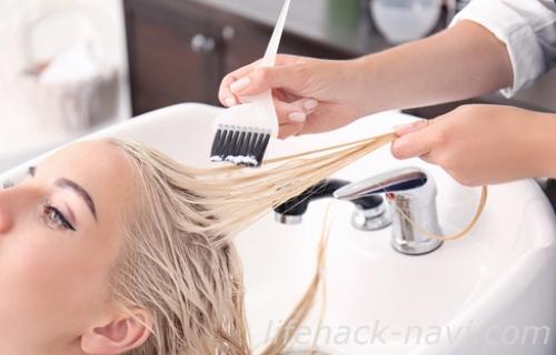 髪の毛 パサパサ 改善 サロントリートメント