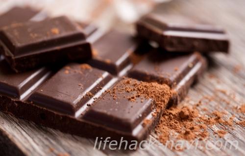 ダイエット 空腹 太りにくい食べ物 高カカオチョコレート