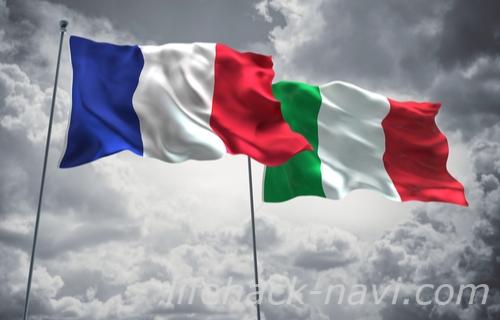 テーブルマナー イタリア フランス 違い