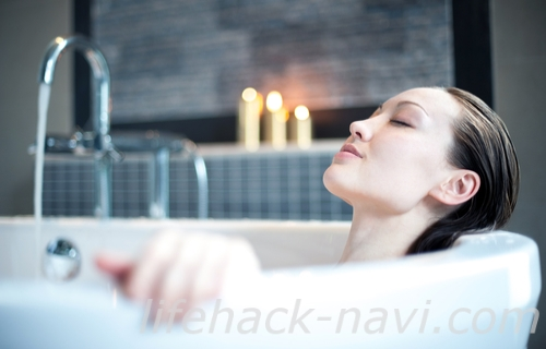 ホルモンバンス乱れ 整える方法 お風呂につかる