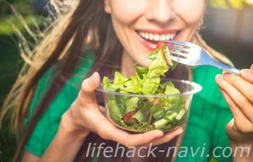 冷え性 改善 食生活 よく噛んで食べる