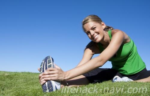 太もも 肉割れ 予防 適度な運動