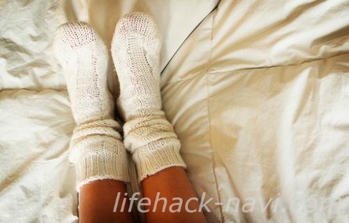 足 冷え 対策 靴下