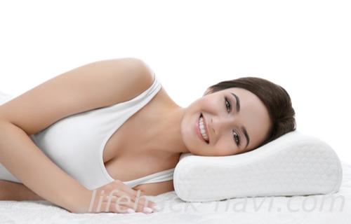 首 しわ 対策 枕の高さ