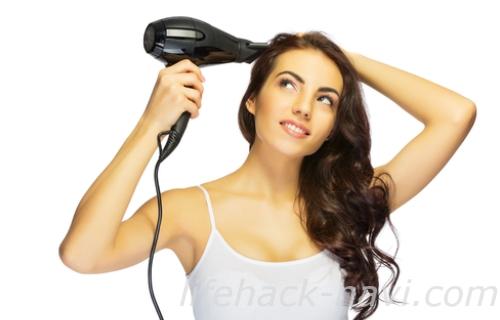 髪 べたつき 対策 乾かし方