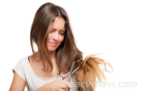 髪 癖毛 種類 波状毛