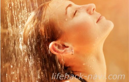 寝癖 直し方 原因 シャワーの水質