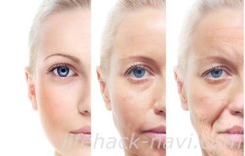 粉ふき肌 原因 老化