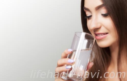 粉吹き肌 改善 水分補給