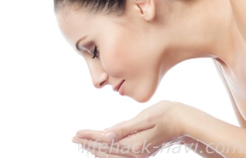粉吹き肌 スキンケア ぬるま湯で洗顔