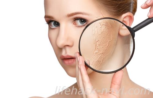 顔ダニ 症状 乾燥肌