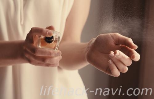 香水 付ける トップノート