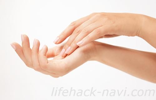 香水 付ける 位置 爪の裏