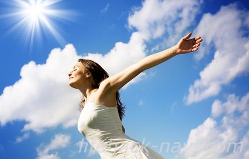 緊張 ほぐす 方法 太陽を浴びる