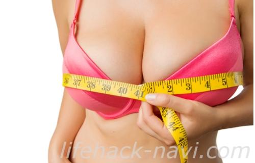胸 垂れる 下着 サイズを測る