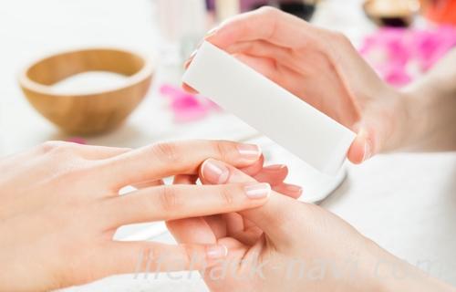 深爪 治す 方法 ネイルサロン