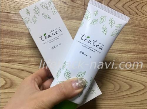 teatea(ティアティア)洗顔フォーム 口コミ