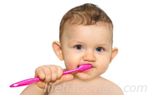 赤ちゃん 歯磨き 時期