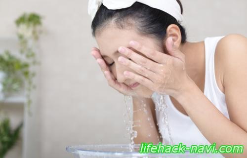 塩洗顔 効果 やり方